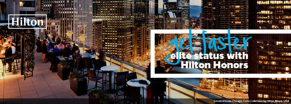 hilton honors gold fast track how to steps