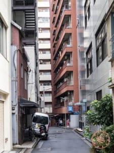 konjiki local neighbourhood in tokyo shinjuku