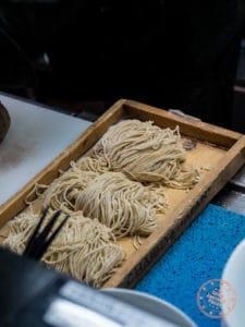 matador ramen noodles in the kitchen