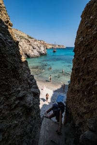milos tsigrado beach greece trip highlight