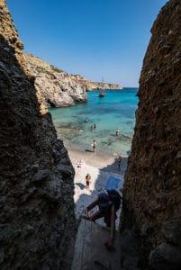 milos tsigrado beach greece trip highlight