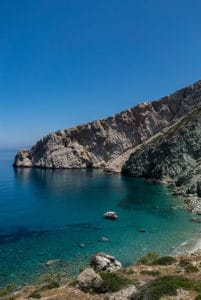 vorina beach folegandros greek island trip highlight