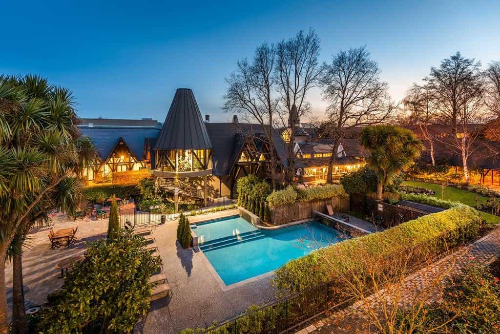 best place to stay in new zealand doubletree christchurch