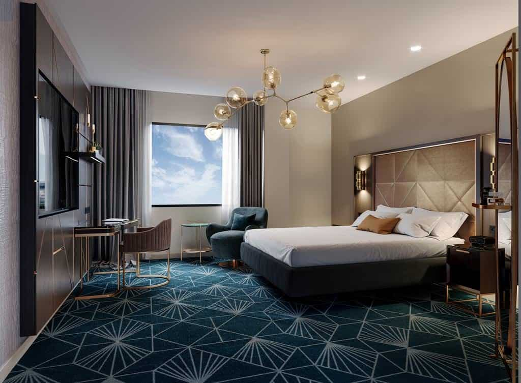 best places to stay in new zealand doubletree napier bedroom
