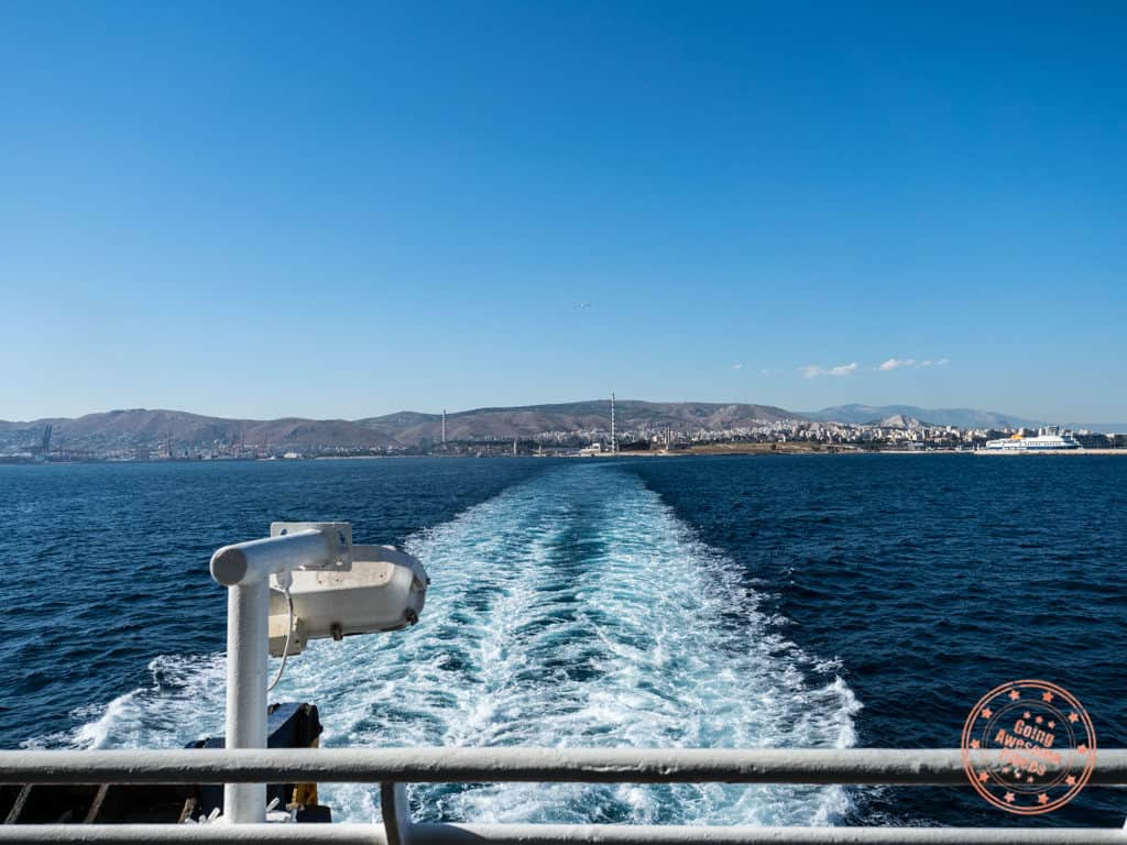 ferry from athens to paros