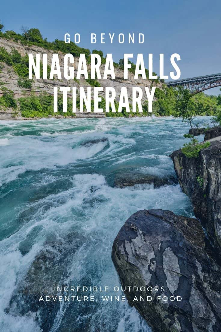 Niagara Falls on the Canadian side is so much more than just the Falls. In this detailed itinerary, learn how you can plan a 3 day vacation to the region that also includes Niagara-on-the-Lake and Port Colborne. This plan is packed with outdoor adventure, world-class wineries, and culinary delights. #MyNiagara #VisitNiagara #ExploreNiagara