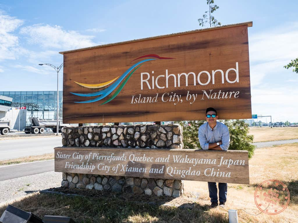 things to do in richmond bc 4 day itinerary city sign
