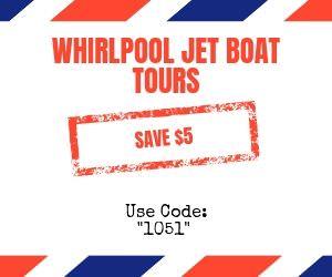 niagara falls whirlpool jet boat tours discount code promotion savings