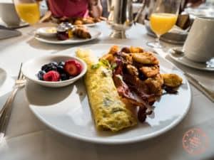 prince of wales breakfast omelette