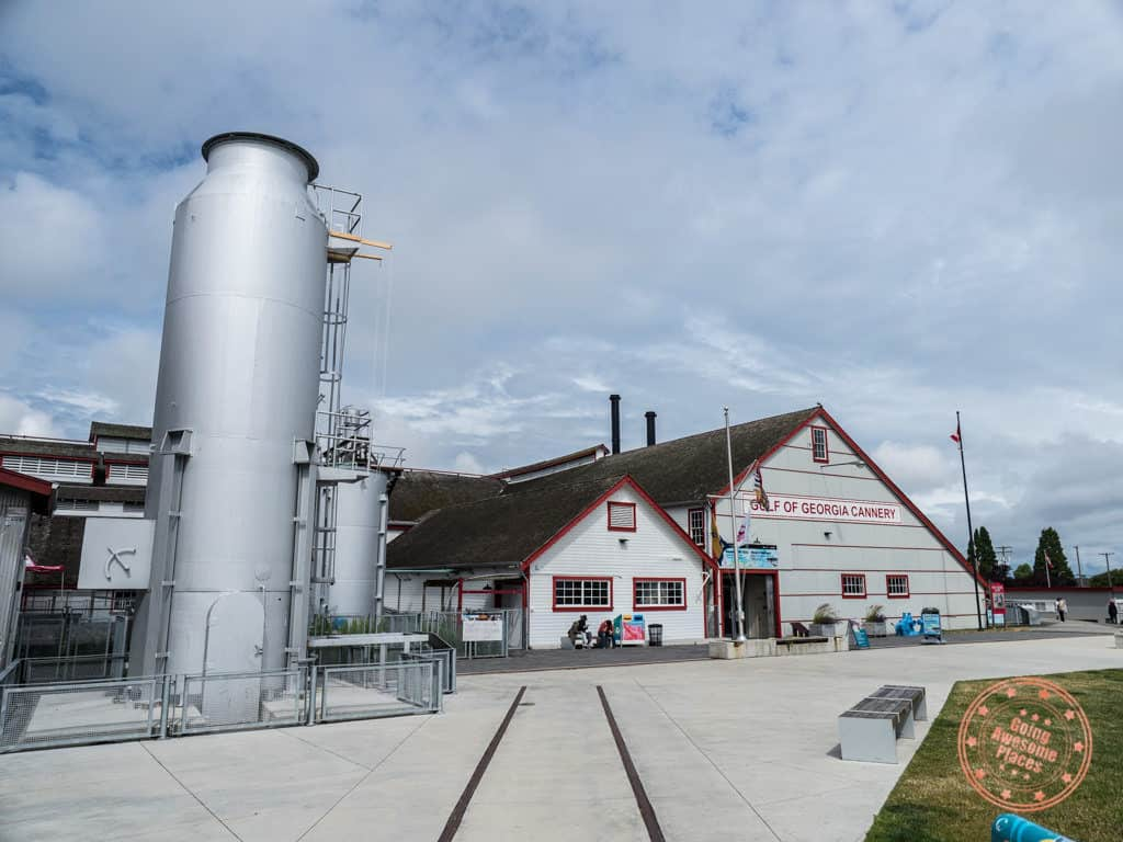gulf of georgia cannery exterior
