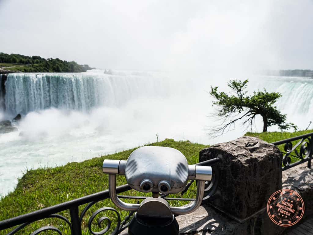 niagara falls travel guide binoculars