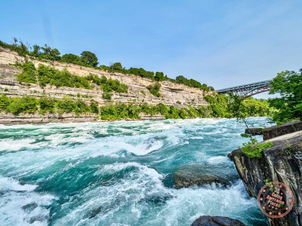 niagara falls itinerary white water walk travel guide