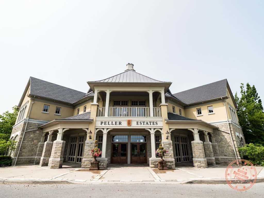 peller estates winery niagara on the lake entrance