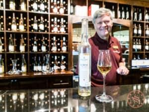 estate room at peller estates for wine tasting icewine