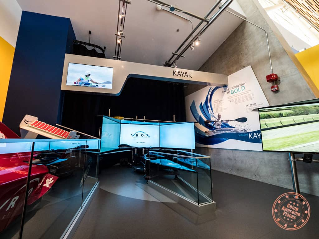 richmond olympic experience canoe sports simulator rox