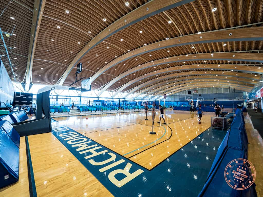 richmond olympic oval hardcourt sports