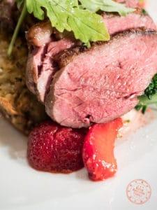 roasted beef striploin treadwell restaurant notl