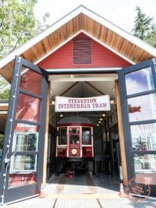 steveston interurban tram museum richmond bc