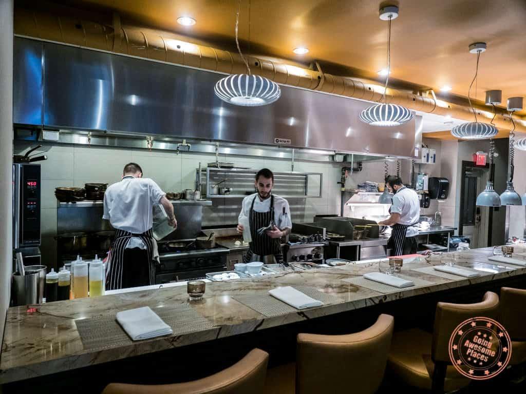 treadwell restaurant notl open kitchen