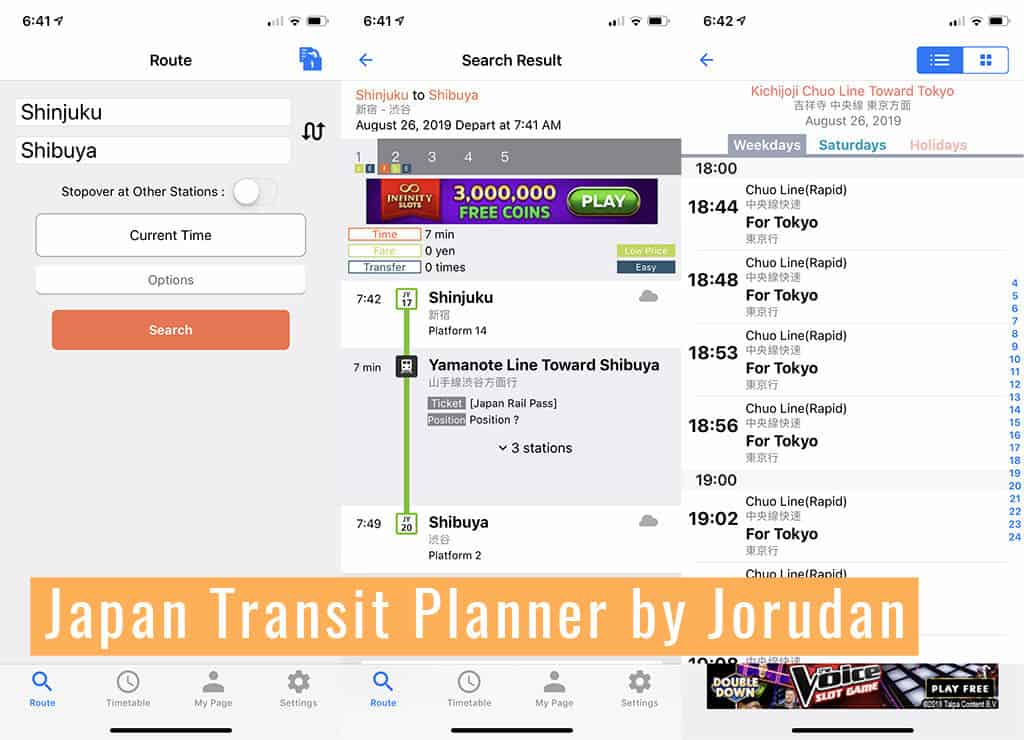 japan transit planner by jorudan travel app