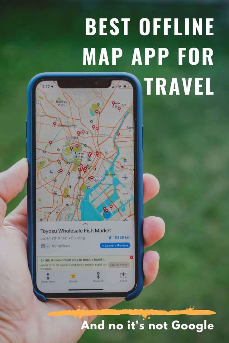 Best Offline Maps App for Travel that Isn\'t Google - How to Import My Maps into Maps.me