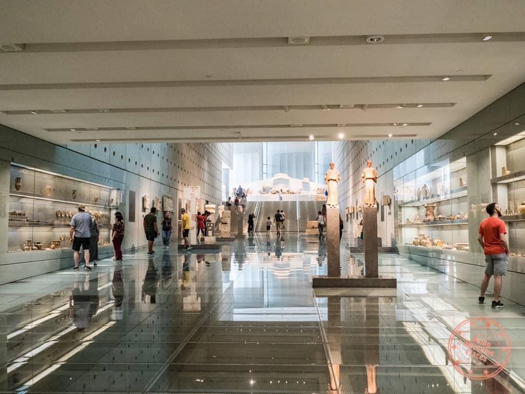 acropolis museum exhibits