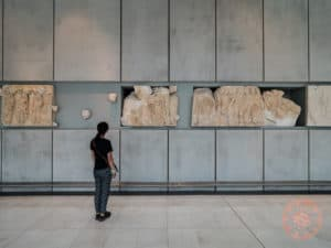 acropolis museum frieze remnants