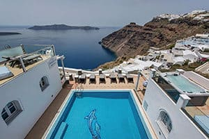 agnadema apartments in firostefani where to stay in santorini