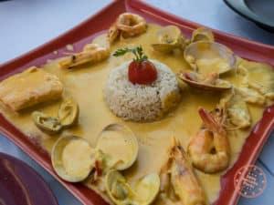 ammoudi fish tavern seafood dish