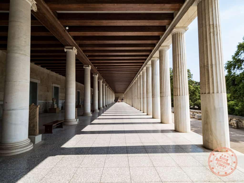 ancient agora stoa of atallos
