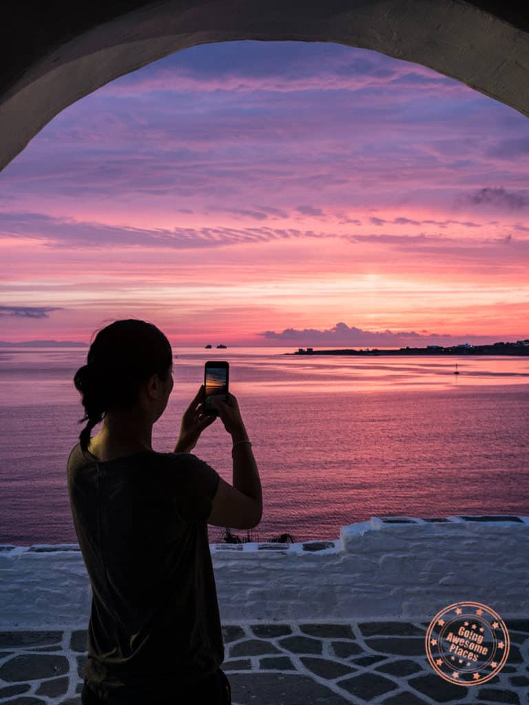 top things to do in paros itinerary taking the best sunset photos