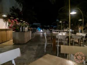 blue cuisine upscale restaurant in folegandros