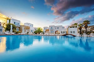 where to stay in folegandros chora resort hotel and spa