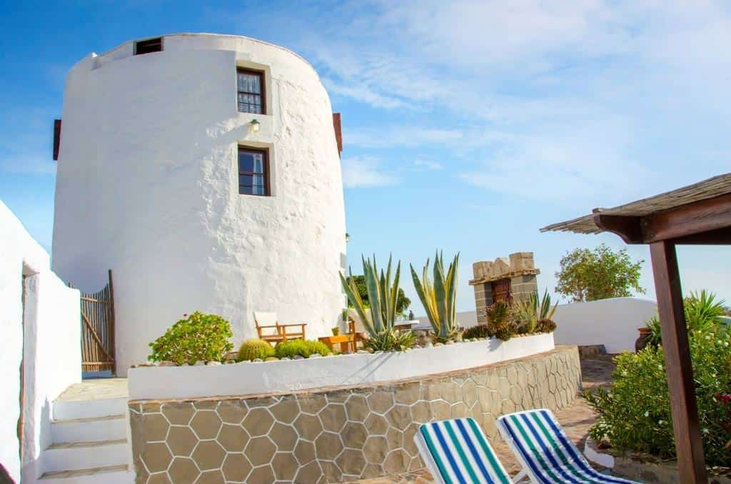drougas windmill vacation home in milos greek islands