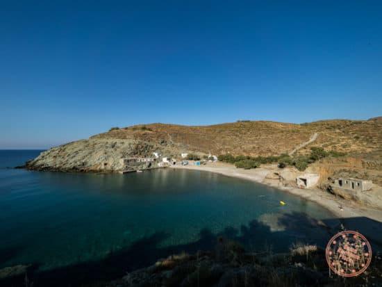 georgios beach from road