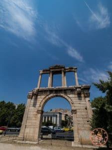 hadrians gate athens