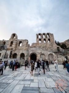 herodeon atticus theatre acropolis athens
