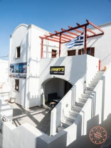 jimmy's car rentals in imerovigli santorini