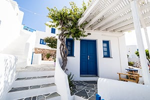 where to stay in folegandros greek islands meltemi villa