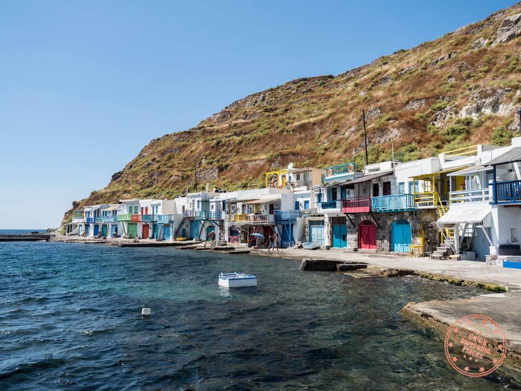 klima colourful fishing village in milos in 3 days