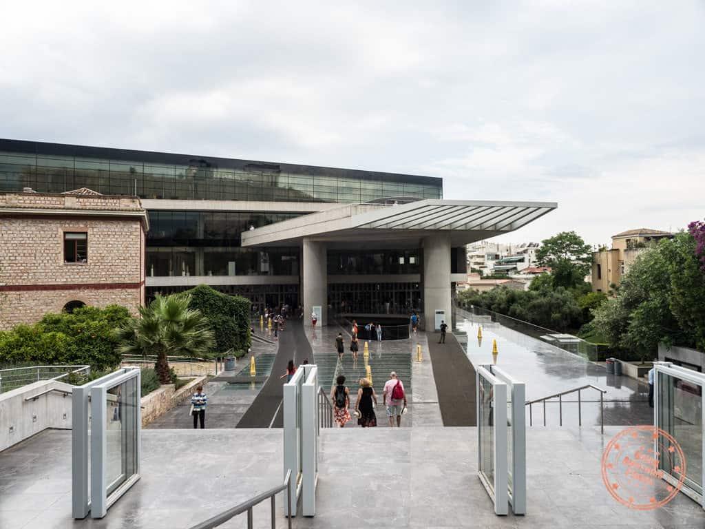 new acropolis museum entrance