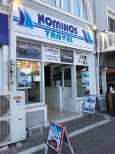 nomikos travel in santorini