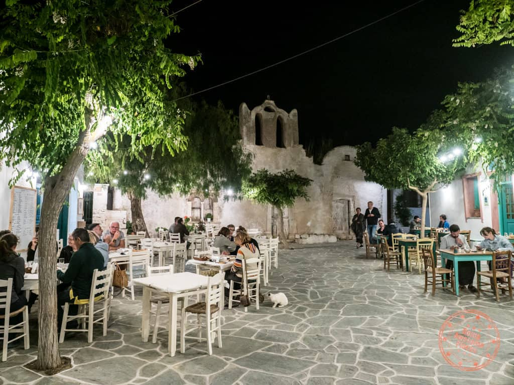 o kritikos restaurant in folegandros greece