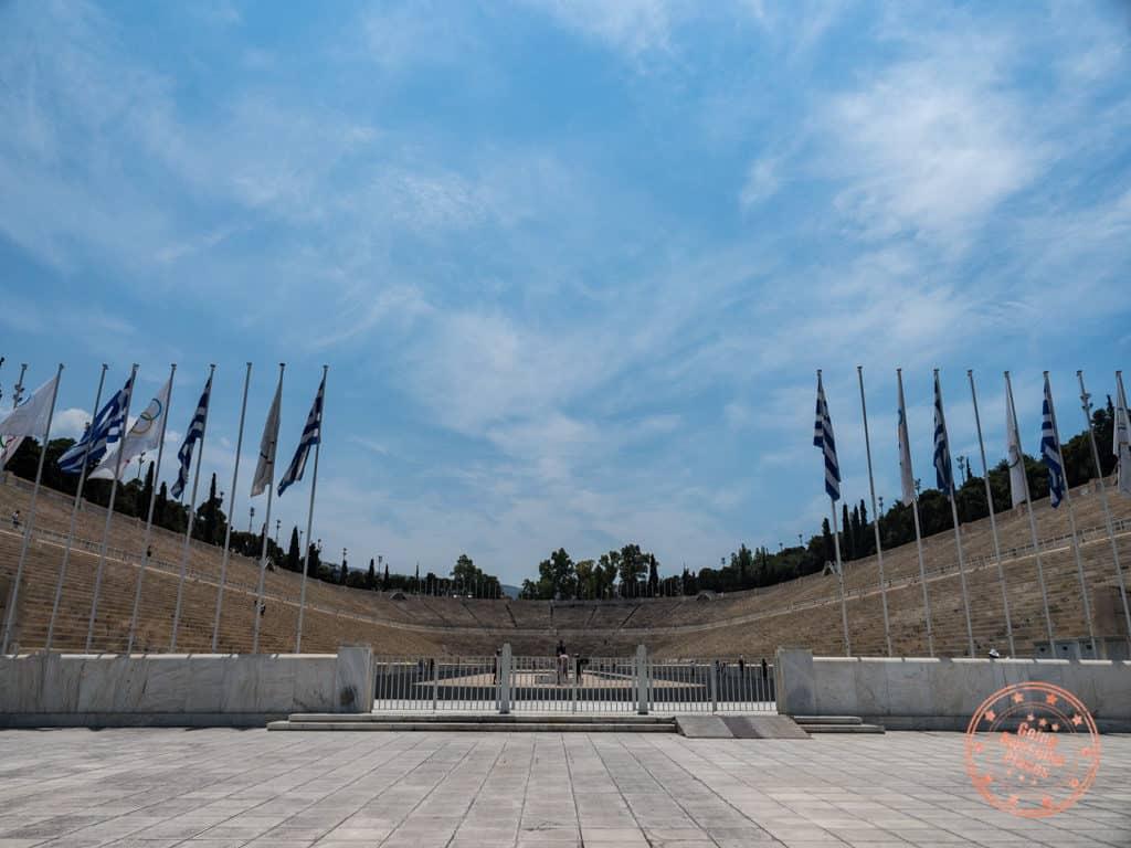 panathenaic stadium olympics athens