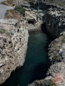 papafragas beach channel
