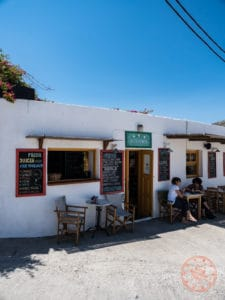 pounda folegandros exterior where to eat