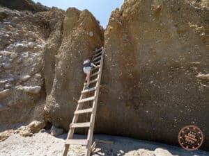 tsigrado beach ladder