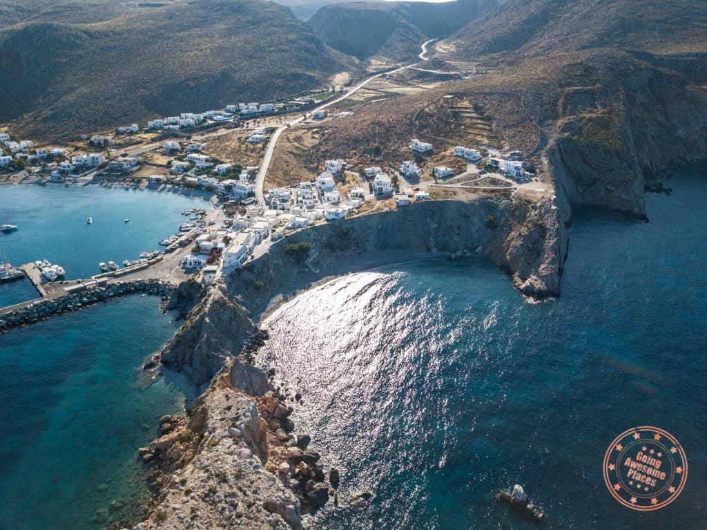 vardia beach aerial photo