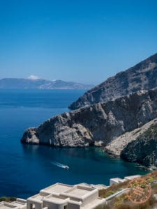 vorina beach folegandros hike down greek island hopping itinerary