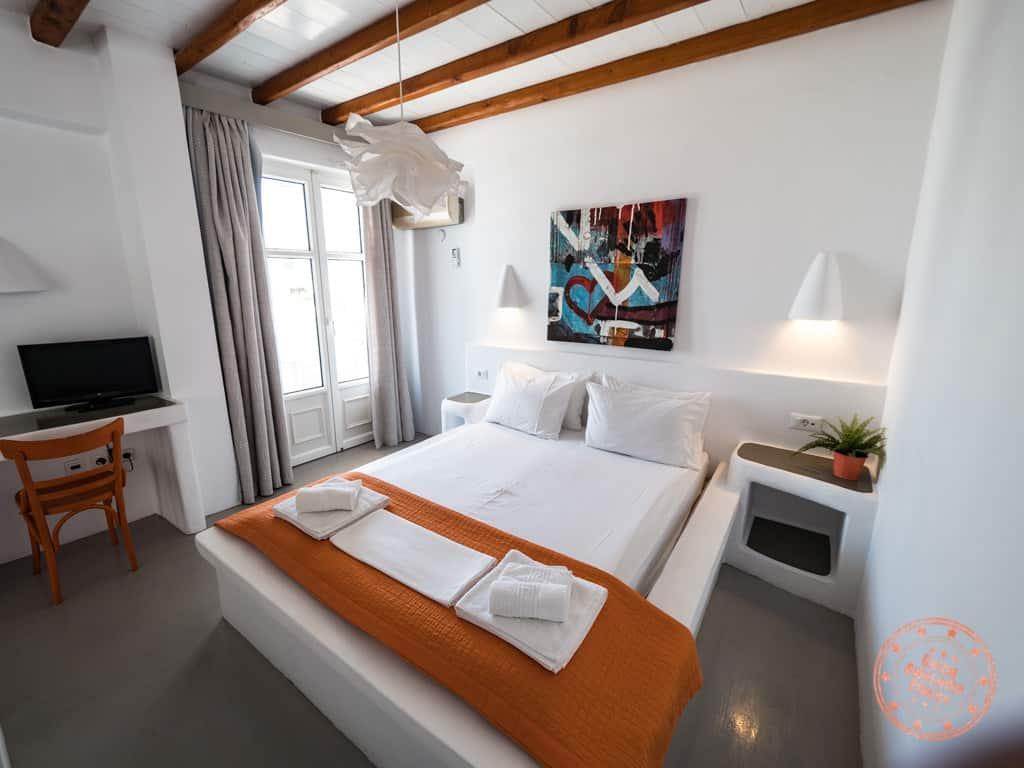 Giannoulis Hotel Bed